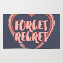 Forget Regret Rug