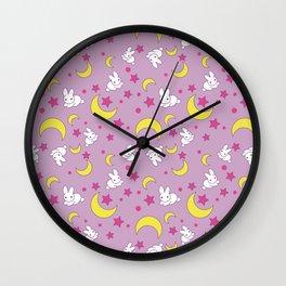 Usagi's Pattern Old Style Wall Clock