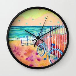 Calm Seas and Cruiser Wall Clock