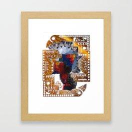 Suri Framed Art Print