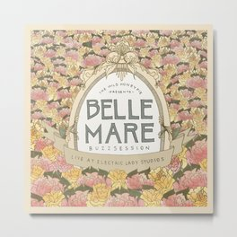 Belle Mare Buzzsession Cover Art Metal Print