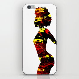 Color Girl Power iPhone Skin