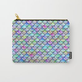 Rainbow Bubble Scales Carry-All Pouch