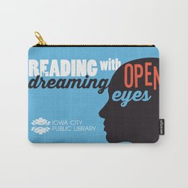 Open Eyes - Iowa City Public Library Carry-All Pouch