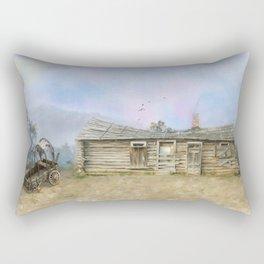 Old West Rectangular Pillow