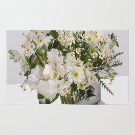 Flowers Spirit Collage Rug