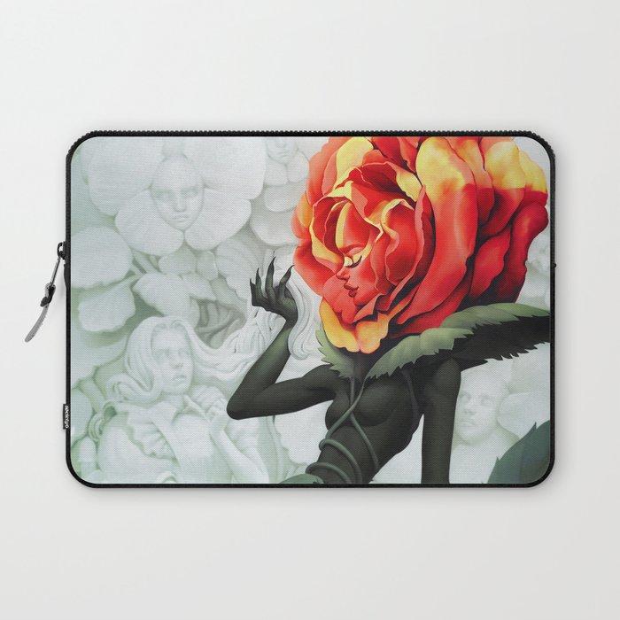 Alice in Wonderland Rose Laptop Sleeve