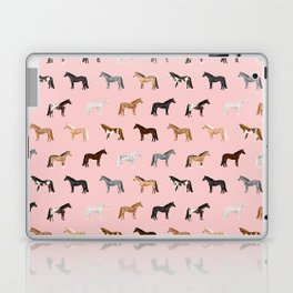horses farm animal pet gifts Laptop & iPad Skin