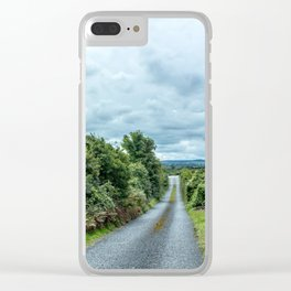 The Rising Road, Ireland Clear iPhone Case