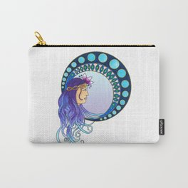 Purple lady - Art Nouveau style Carry-All Pouch