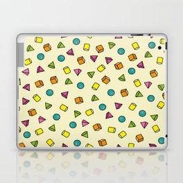 Geometric yellow Laptop & iPad Skin