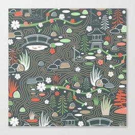 Japanese garden Canvas Print