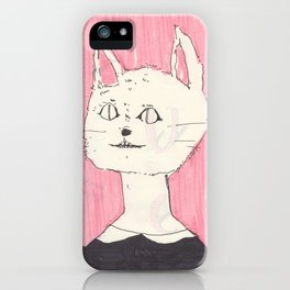 a cat (i like it if you like it) iPhone Case