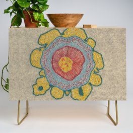 Growing - Pinus 1 - plant cell embroidery Credenza
