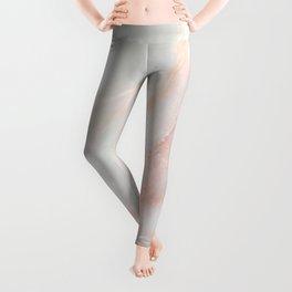 Softest blush pink marble Leggings