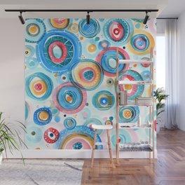Bubbly Confetti Wall Mural