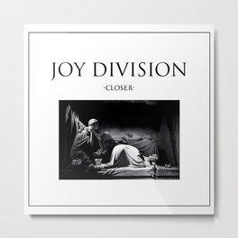Joy Division - Closer Metal Print