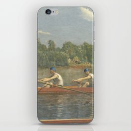 The Biglin Brothers Racing by Thomas Eakins iPhone Skin