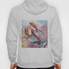 Under The Sea - Colorful Lobster Hoody