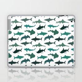 Green Sharks Laptop & iPad Skin