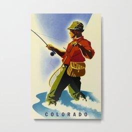Colorado Fly Fishing Travel Metal Print