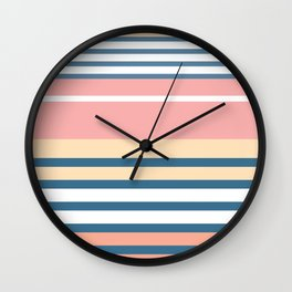 Bronte Stripe Wall Clock