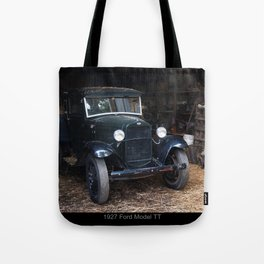 1927 Ford Model Tt Tote Bag