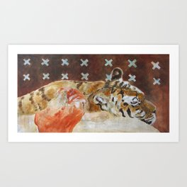 Friends for ever. Art Print