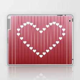 Heart strings Laptop & iPad Skin