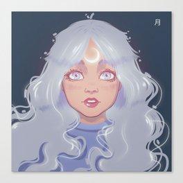 lunar soul Canvas Print