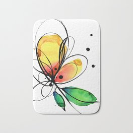 Ecstasy Bloom No.8 by Kathy Morton Stanion Bath Mat