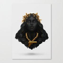 Money Power Glory Canvas Print
