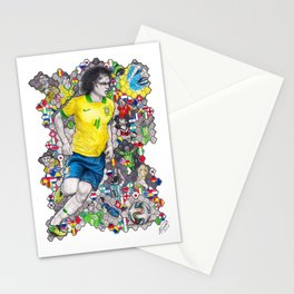 David Luiz and the 2014 Brazil World Cup Stationery Cards