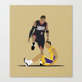 Step Over Lue Canvas Print