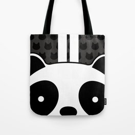 Racing Panda Tote Bag