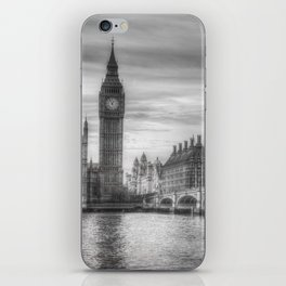 Westminster Bridge and Big Ben iPhone Skin