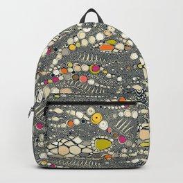 iguana skin indigo pop Backpack