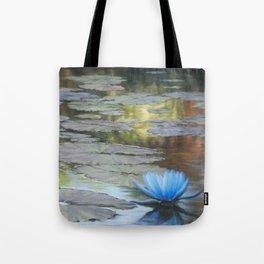 Water Lilies Afloat Tote Bag