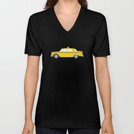 New York Yellow Taxi Unisex V-Neck