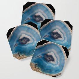 Blue Geode Coaster