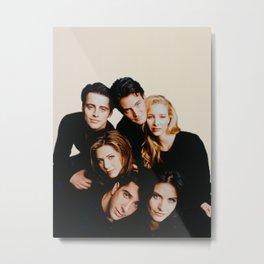 Friends Cast Metal Print