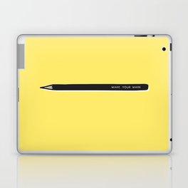 Make your mark pencil Laptop & iPad Skin