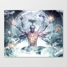 MEN~ABSTRACT Canvas Print