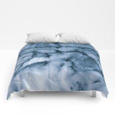 grey blues Comforters