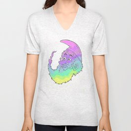 The Amazing Technicolor Wizard Unisex V-Neck