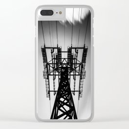 Roosevelt Island Tram Station Clear iPhone Case