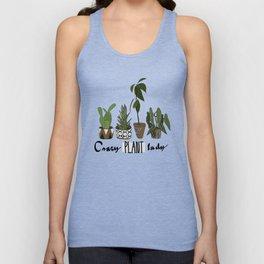 Crazy plant lady Unisex Tank Top