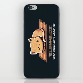 Not a Regular Domestic Cat iPhone Skin