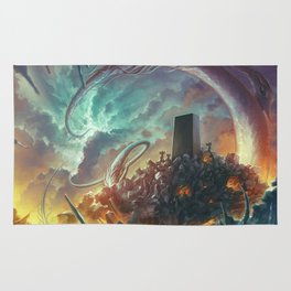 Lovecraft Monolith - By Lunart Rug