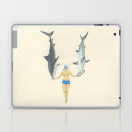 The Shark Charmer Laptop & iPad Skin